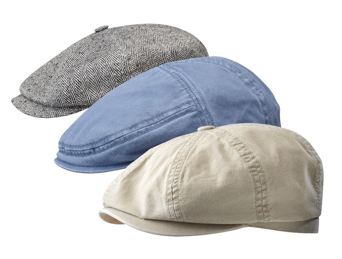 Letní plátěné ploché čepky s kšiltem e1ed980fde