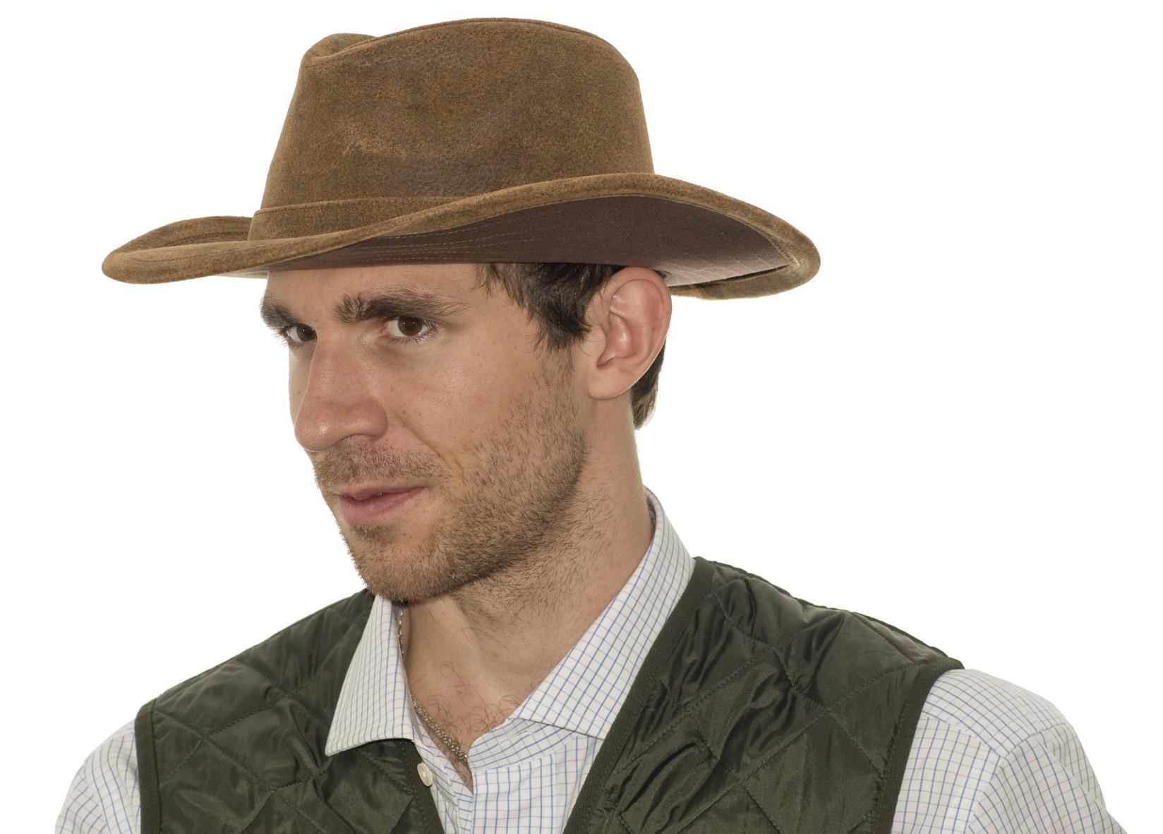 Kožené klobouky  3a0d826c6d