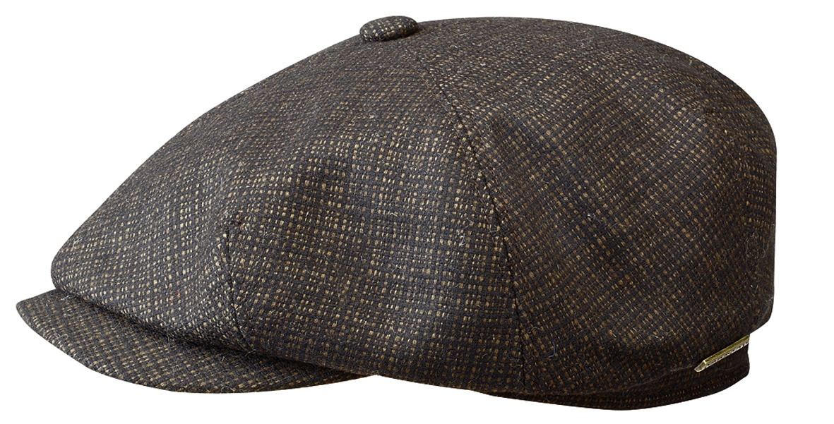 Stetson Gilchrist je velmi elegantní plochá čepice ... a390bb8f46