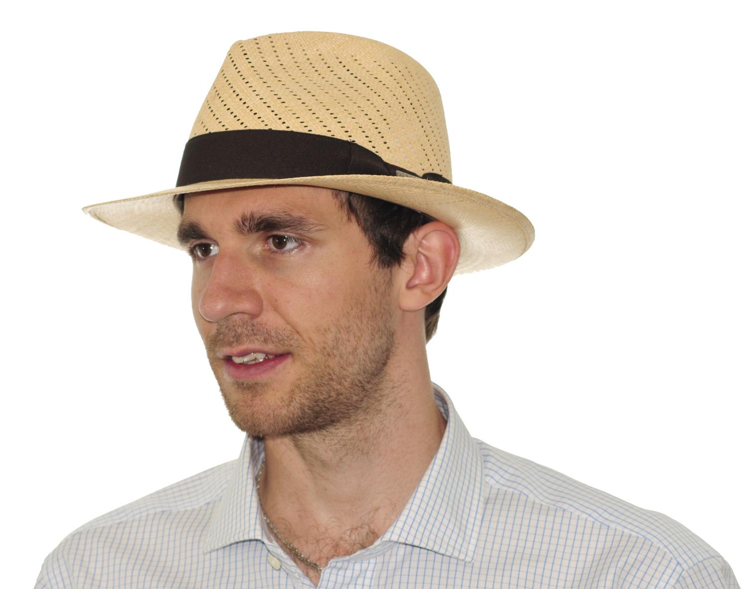 Pravý panama klobouk  fae3648dd6