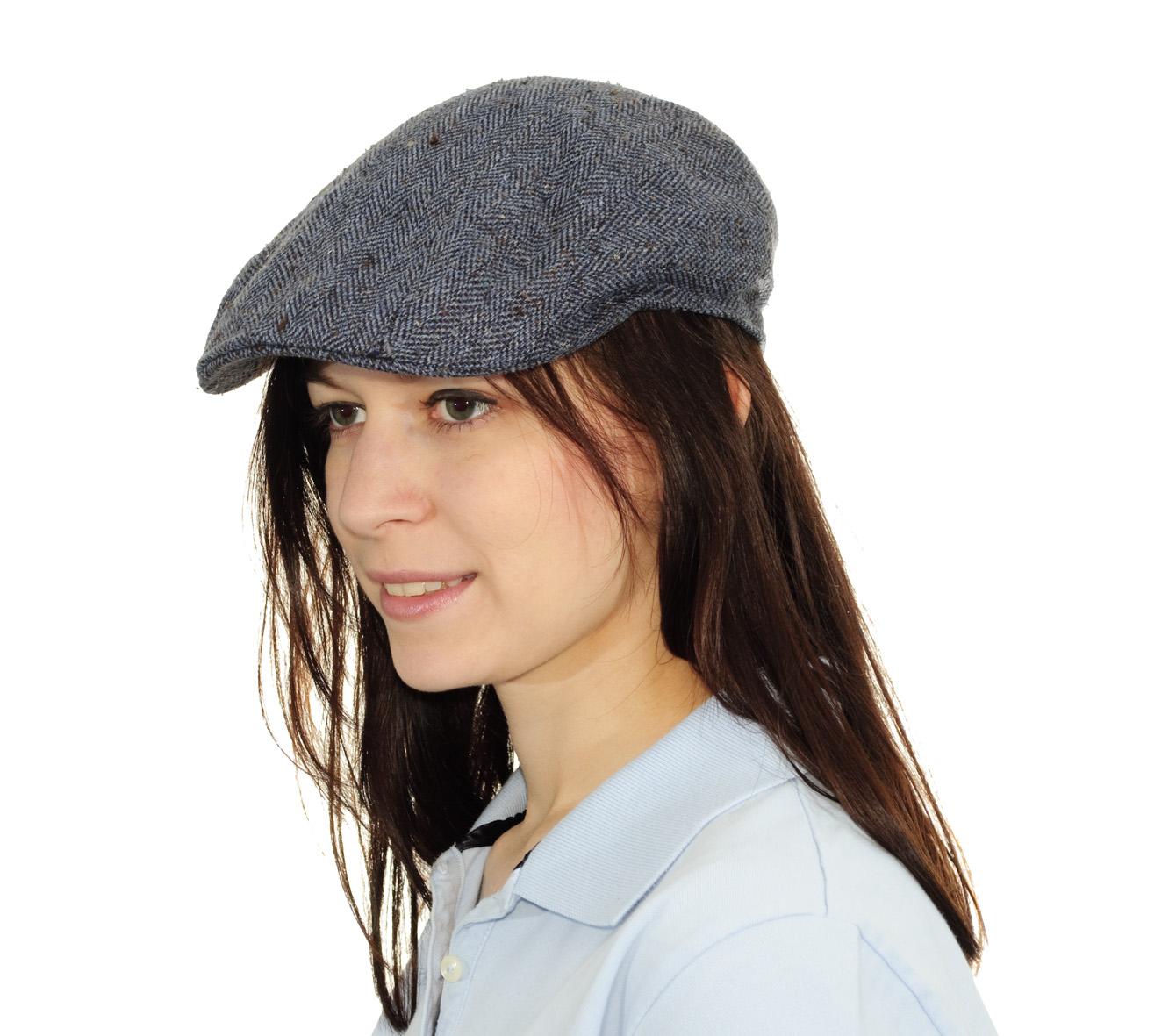 ... stylová hedvábná čepice v šedé barvě. Stetson Madison 875911ec55