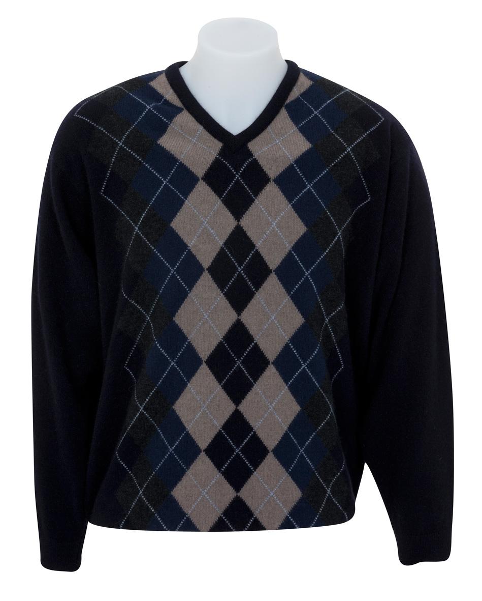 Argyle svetr značky Native World 6a195477e3