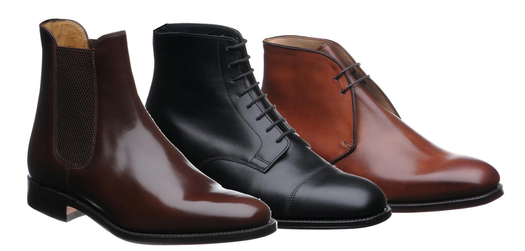 48b6daca4c2 Pánské zimní společenské boty ...