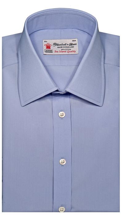 36962d57bc3 Modrá košile – nadčasová elegance
