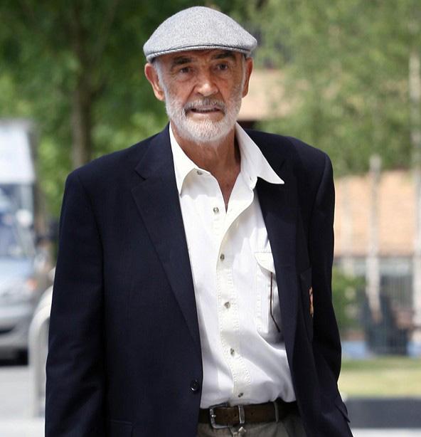 Plochá čepice – bekovka. Sean Connery v bekovce b21a7a2520