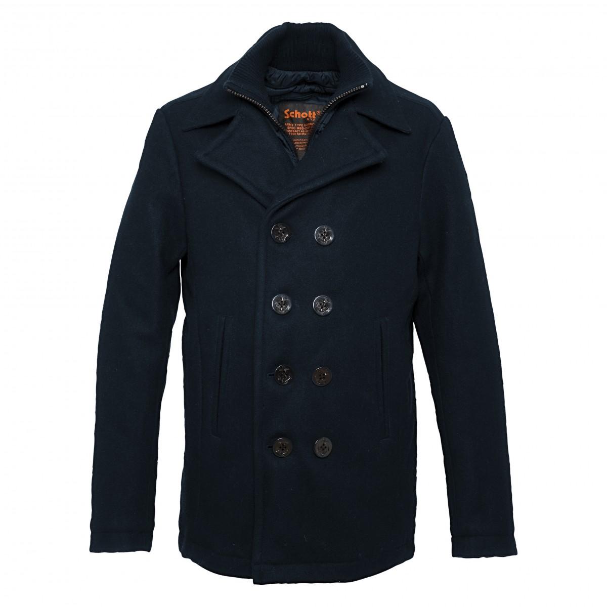 8ce2e053b03 Pea Coat – klasický kabát s námořnickými kořeny